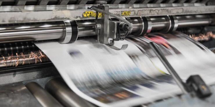 Find et online trykkeri til dit marketing materiale